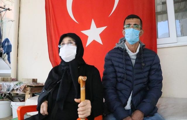 Şehit Gedik'in ailesinden Eren Operasyonlarına destek
