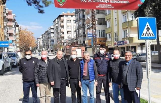 5 Noktaya Hatayspor Pankartı Asıldı!