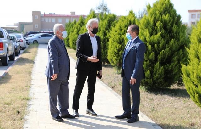 Başkan Yılmaz'dan İSTE'ye Ziyaret