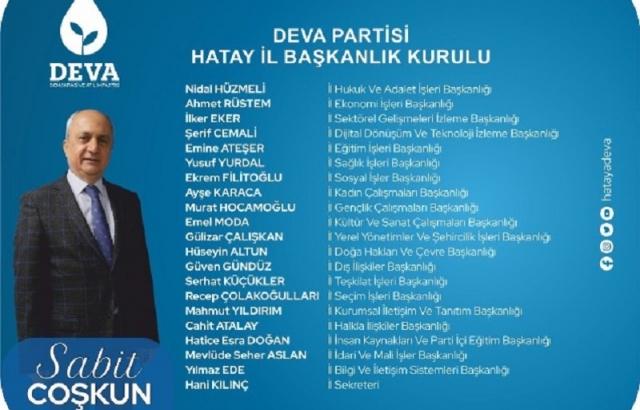 DEVA Partisi, görev dağılımı yaptı