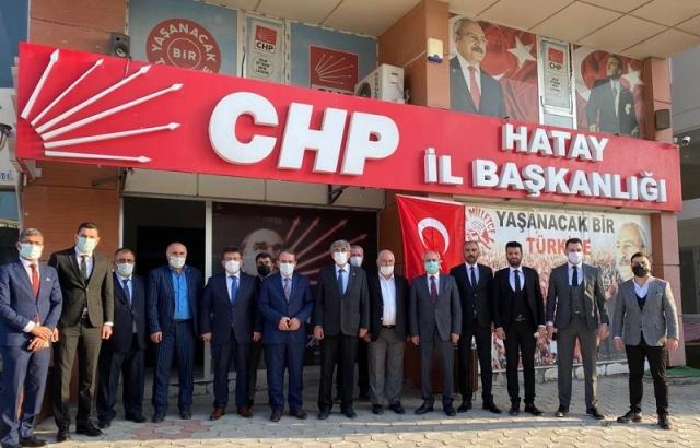 DEVA'dan CHP'ye Ziyaret
