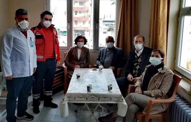 Hambolat'tan ASM'Ye ziyaret