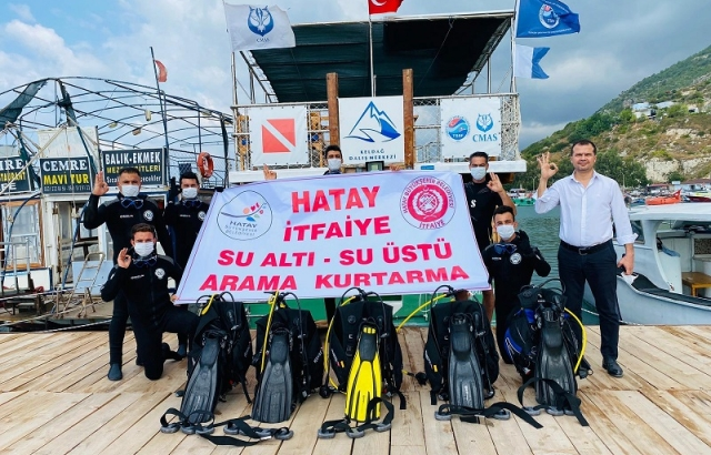 HBB Su Altı ve Su Üstü Arama Kurtarma ekibi kurdu