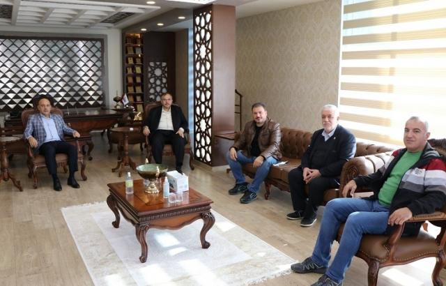 HGC'den Çalışkan'a Taziye Ziyareti