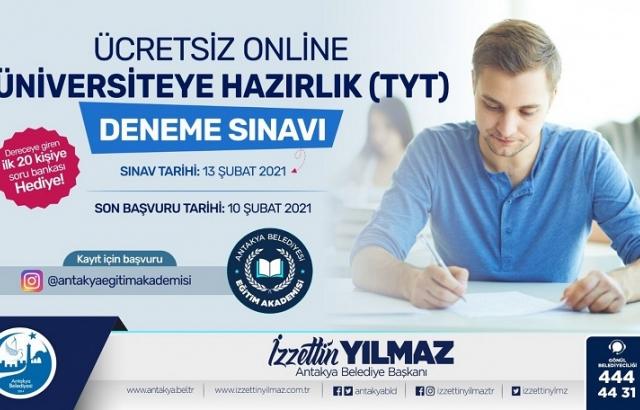 Öğrencilere Online Sınav Desteği