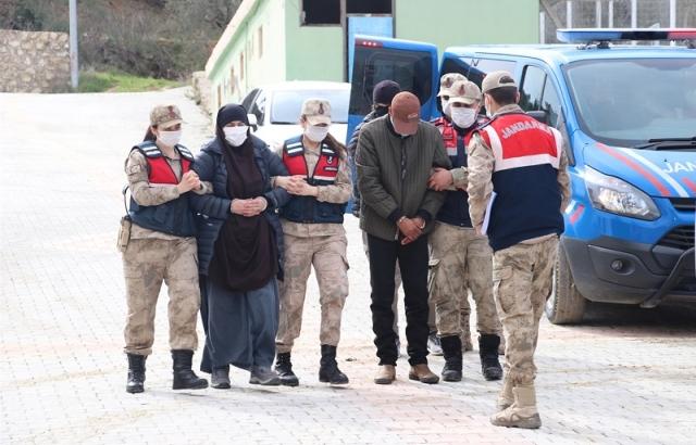 Yakalanan teröristlerden 2'si tutuklandı