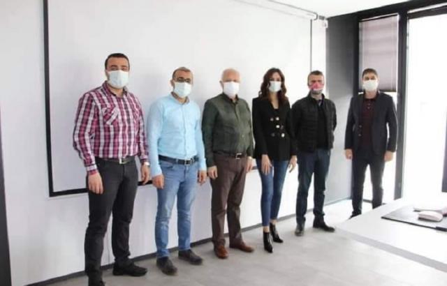 Ziraat Katılım Bankası yetkililerinden ATSO'ya ziyaret