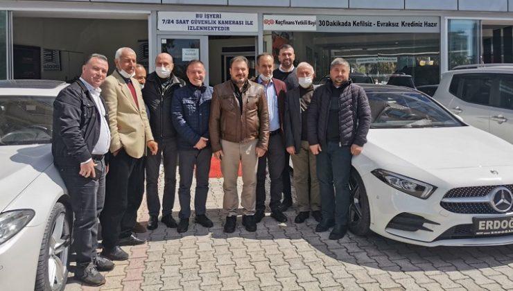 CHP'Lİ MECLİS ÜYELERİ BİR ARAYA GELDİ