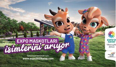 EXPO HATAY MASKOTLARI İÇİN OY KULLANDILAR