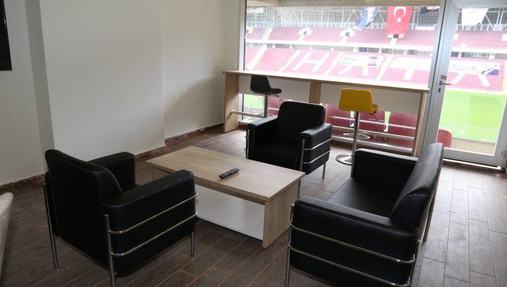 Yeni Stadyumun Örnek Locası Hazırlandı