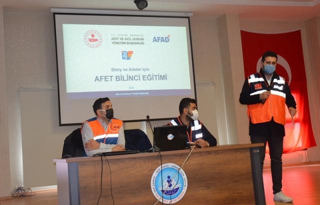 AFET farkındalık eğitimi düzenlendi