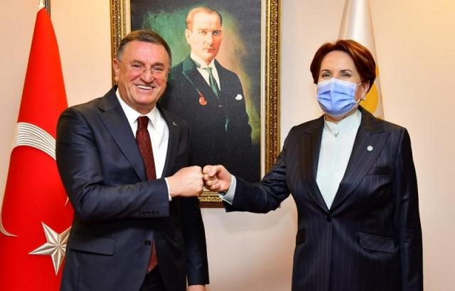 Başkan Savaş'tan Meral Akşener'e ziyaret