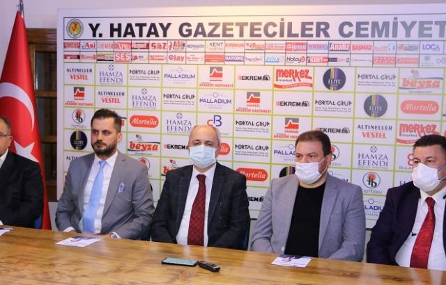 HATAY DEVA'DAN HGC'YE ZİYARET