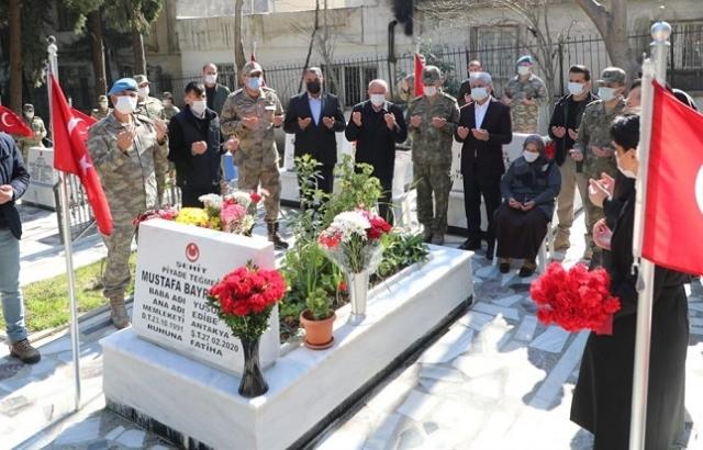İdlib Şehitleri unutulmadı
