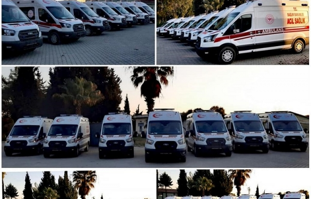 Sağlık Müdürlüğü araç filosu güçlendi