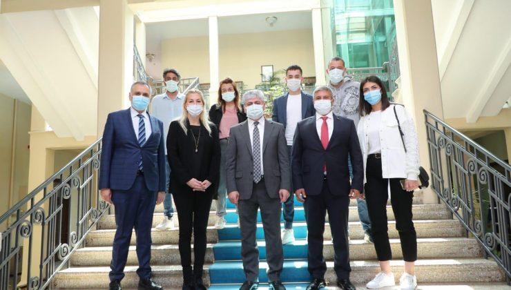 'Kalp Yarısı' ekibinden Vali Doğan'a ziyaret