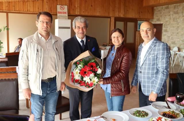 AGF Yöneticileri, Eryılmaz'ın konuğu oldu