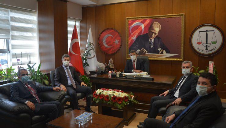 Başkan Dönmez'e, Avukatlar Günü ziyaretleri