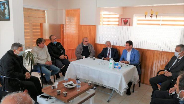 Başkan Eryılmaz'dan Esnaf Odasına Ziyaret
