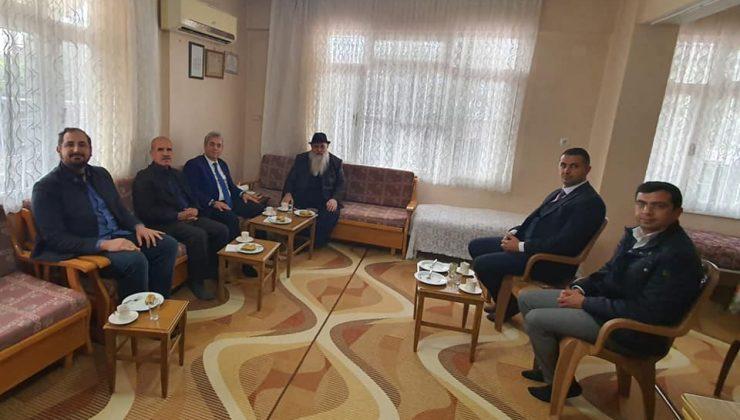 Başkan Özbakış'tan kanaat önderlerine ziyaret