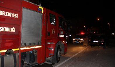 Bina damında çıkan yangın söndürüldü