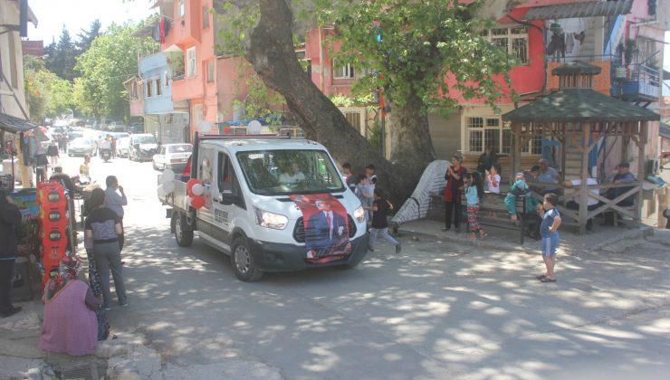 Çocuk Bayramı mobil araçlarla kutladı