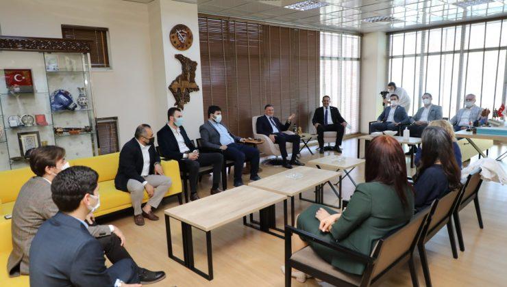 HAGİAD'dan Başkan Lütfü Savaş'a ziyaret