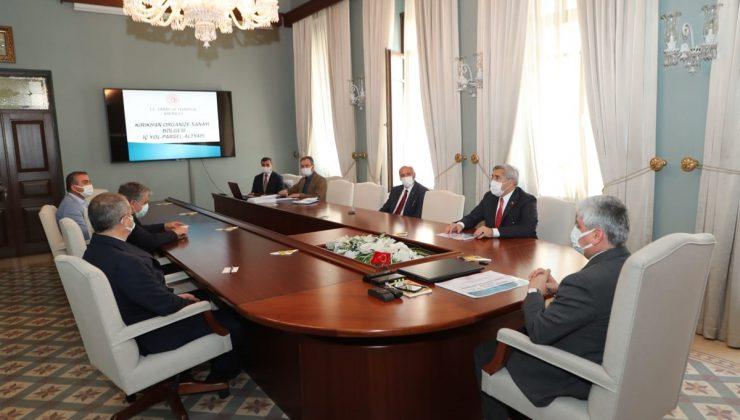 Kırıkhan OSB toplantısı yapıldı
