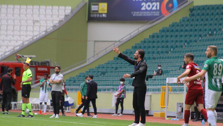 Konya'da gol sesi çıkmadı! 0-0