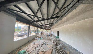 Kültür merkezi çalışmalarında sona yaklaşıldı