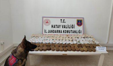 Sınırda 61 kilo uyuşturucu ele geçirildi