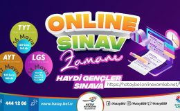 Büyükşehirden öğrencilere online sınav desteği