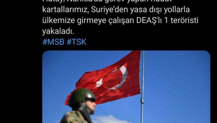 DEAŞ'lı terörist Narlıca'da yakalandı