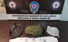 Hafif ticari araçtan uyuşturucu çıktı