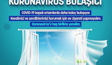 Pencere kapalı koronavirüs bulaşıcı