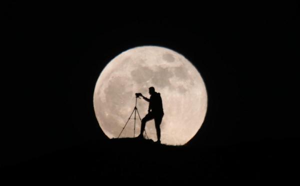 Süper Ay'da Görsel Şölen!