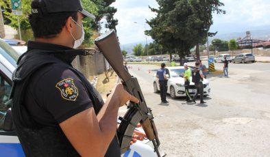 230 polisle asayiş!