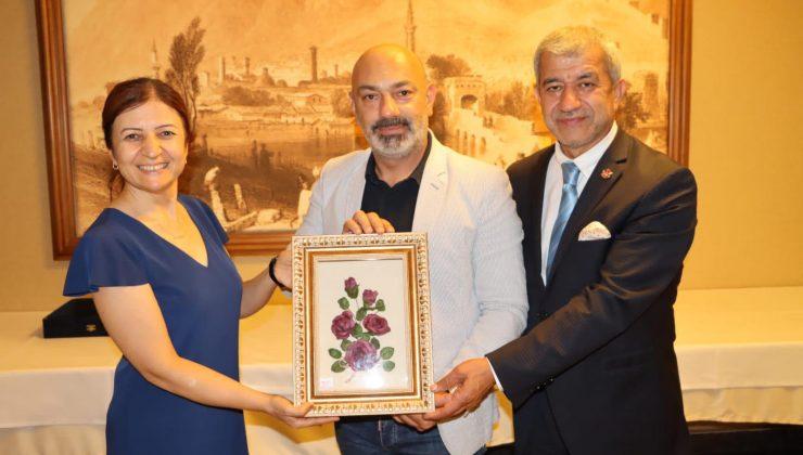 AGF Onursal Başkanı Yeni'den veda ziyareti