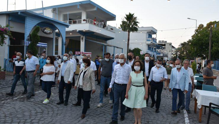 Arsuz'da yaya caddesi açıldı