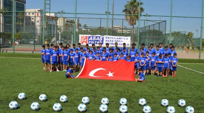 Asaşspor Futbol Okulu Futbolcu Fabrikası Gibi