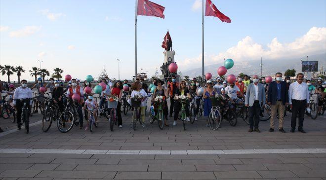 Bisiklet turu düzenlendi