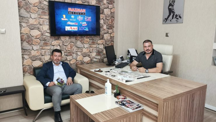 DEVA Antakya'dan, MAZMAN Medya'ya ziyaret