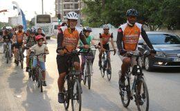 Dörtyol'da bisiklet turu düzenlendi