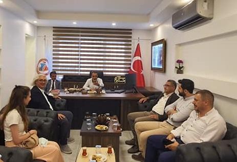 HASİAD'tan Ali Mansuroğlu'na ziyaret etti