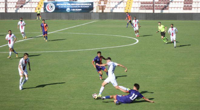 Antakya Belediyespor, İskenderunspor dostça 1-1