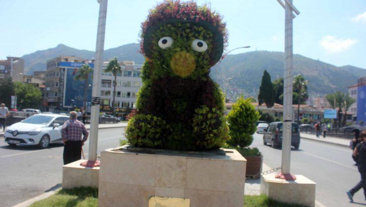 Kral Şuppiluliuma heykeli yerinde