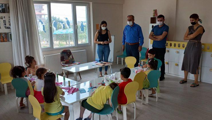 Müdür Gülistan'dan anaokulu ziyareti