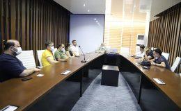 Radyoloji Uzman Hekimleriyle toplantı