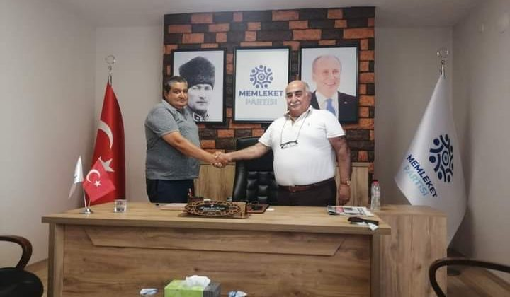 Selahattin Nurlu, ilçe başkanı oldu