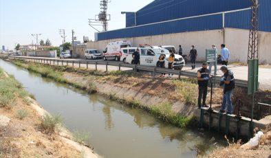 Sulama kanalında erkek cesedi bulundu